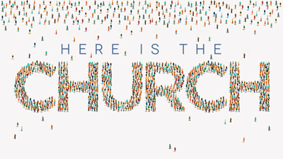 Cover art for Here is the Church - PDF