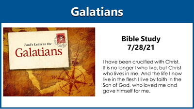 Cover art for Bible Study - Galatians - Video