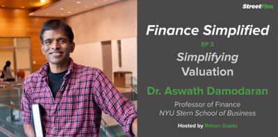 Cover art for EP 3 — Simplifying Valuation with Aswath Damodaran of NYU Stern