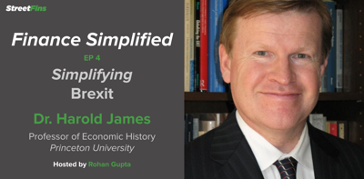 Cover art for EP 4 — Simplifying Brexit with Harold James of Princeton