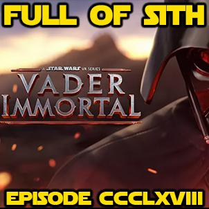 Cover art for Episode CCCLXVIII: Vader Immortal