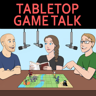 Chris, Kitty and Fletcher talk about tabletop board and card games.