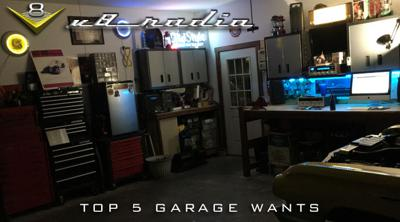 Cover art for V8 Radio Podcast: Top 5 Garage Wants, Automotive Trivia, and More!