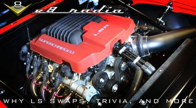 Cover art for V8 Radio Podcast: Why are LS Engine Swaps So Popular?  Trivia, Forums, and More!