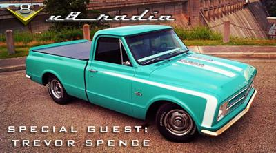 Cover art for V8 Radio Podcast: Trevor Spence from the V8 Speed and Resto Shop, Trivia, and More!
