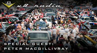 Cover art for The Future of Automotive Events with Peter MacGillivray V8 Radio Podcast