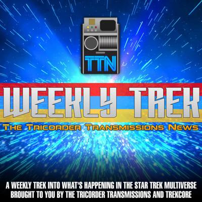 The Tricorder Transmissions hosts gather to discuss the latest in Star Trek news.