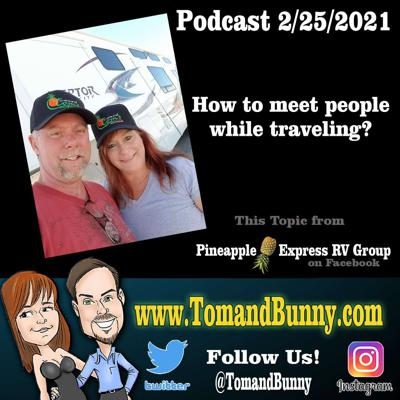Cover art for How do we meet people when traveling by TomandBunny