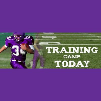 Training Camp Today will feature Neil Roberts with Jesse Rostvedt. The episodes will recap what they're looking forward to and what they have seen so far while attending training camp in Mankato.