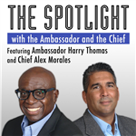 The Spotlight with the Ambassador and the Chief