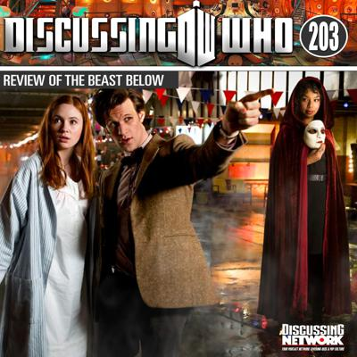 Cover art for Episode 203: Review of The Beast Below, Doctor Who Series 5 Episode 2