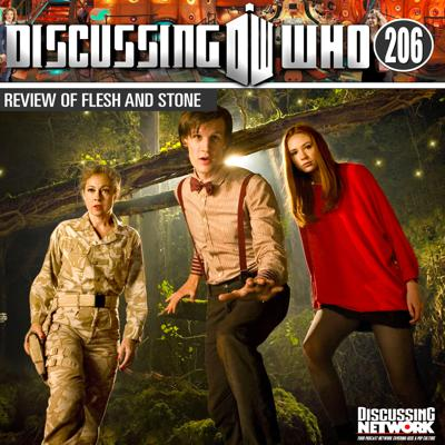 Cover art for Episode 206: Review of Flesh and Stone, Doctor Who Series 5 Episode 5