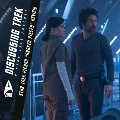 "Cover art for DT089: Star Trek: Picard ""Broken Pieces"" Review"