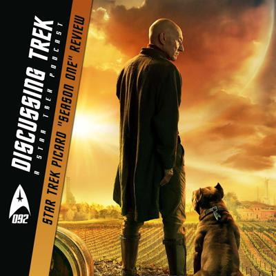 "Cover art for DT092: Star Trek: Picard ""Season One"" Review"
