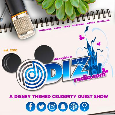 DisneyBlu's DizRadio is a Weekly Disney Show With Celebrity Guests that is dedicated to the Magic Memories and Appreciation from Your Lifetime of Disney!