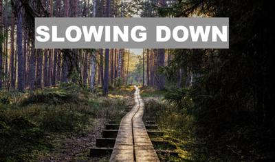 Cover art for Slowing Down   Piano Improvisation [Episode 223, April 25, 2020]