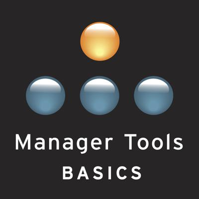 Manager Tools is a weekly business podcast focused on helping business professionals become more effective managers and leaders. Each week, the hosts discuss new tools and easy techniques to help business professionals achieve their desired management and career objectives. Manager Tools Basics are the 23 core curriculum casts we recommend to professionals wanting to improve as managers. They cover the 4 parts of the Manager Tools Trinity: Know Your People with One on Ones, Talk About Performance with Feedback, Ask For More with Coaching, Push Work Down with Delegation. Start here before progressing on to the 500+ casts of all of Manager Tools. Manager Tools won Best Business Podcast Award in 2006, 2007, 2008, and 2012 as well as the People's Choice Award in 2008.  Go to http://www.manager-tools.com/testimonials to read what others are saying about the impact Manager Tools has had on their careers and lives.