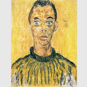 Cover art for James Baldwin by Beauford Delaney