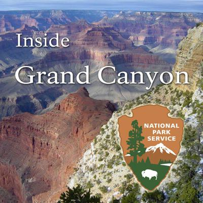 Learn about Grand Canyon National Park with a Park Ranger as your guide. Inside Grand Canyon provides an in-depth look at the nature, science, history and culture of the Grand Canyon told through audio/ video podcasts and Ranger  Minutes.  A powerful and inspiring landscape, the Grand Canyon overwhelms our senses through its immense size. Unique combinations of geologic color and erosional forms decorate a canyon that is 277 river miles (446km) long, up to 18 miles (29km) wide, and a mile (1.6km) deep.