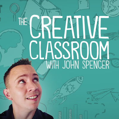 John Spencer is passionate about seeing schools embrace creativity and design thinking. In this podcast, he explores the intersection of creative thinking and student learning.