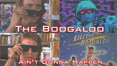 Cover art for The Boogaloo Ain't Gonna Happen