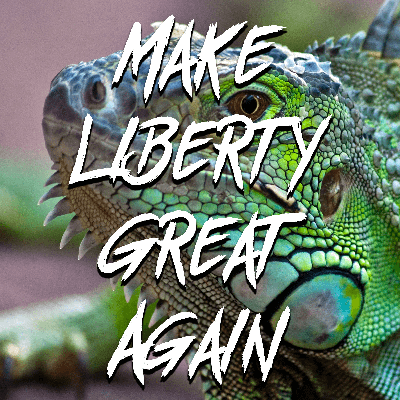 Cover art for Episode 57 - Lizard Bitches and the Unseen Realm with Mike Maharrey