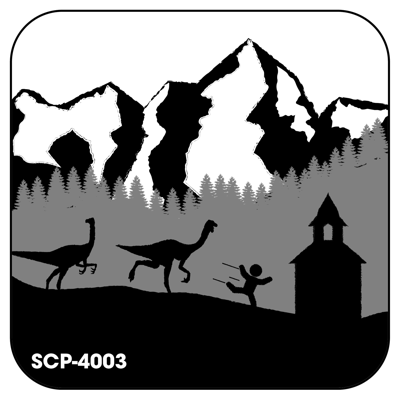 Cover art for SCP-4003: Cowboys, Catholics, & The Cretaceous