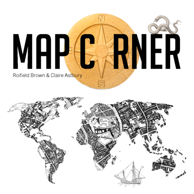 A podcast about maps and loving maps