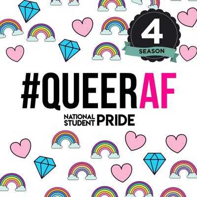 Listen for free every week, as a different student, graduate or LGBT+ producer tells their most #QueerAF story on the podcast by National Student Pride. Hosted by Jamie Wareham, we commission young LGBT+ producers to tell their own stories so long as they are beyond the binary, sex-positive, challenge mental health, sexuality and identity taboos – or have unicorns spewing rainbows everywhere. Download and take the best UK lesbian, gay, bisexual, trans and queer story podcast with you, as recommended by Cosmopolitan, Gay Star News, Attitude Magazine, Spotify Digital Pride collection and Apple Podcast's Pride collection. The show was nominated for a British Podcast Award 2019. We're back in 2020 with Season 4, with more LGBT+ reporters than ever.#QueerAF keeps the pride of conversation – that is National Student Pride, an event for LGBT+ students and graduates – a discussion that carries on all year round. We have the UK's biggest free LGBT+ job fair powered by Pride.Careers, taboo challenging and topical panel discussions, live recordings of the show and tantalising performances. Don't miss the biggest event in the UK's student calendar, in February, the UK's LGBT History Month.