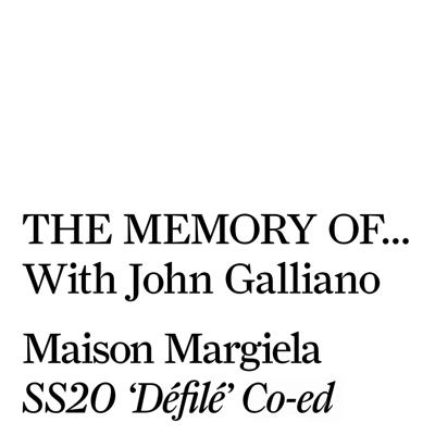 Cover art for Maison Margiela SS20 'Défilé' Co-ed