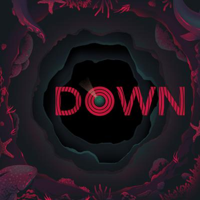 Down is a 24-part science-fiction series about an expedition into a newly-discovered Antarctic trench, dubbed The Bottomless Pit. The company-backed research submarine Virgil is elegant, state-of-the-art, and capable of withstanding enormous pressures. The same cannot be said for her crew.