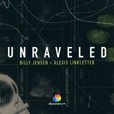 """Unraveled is hosted by journalists Billy Jensen and Alexis Linkletter. Each season features a deep dive investigation into a case or issue that true crime fans will be obsessed with, culminating in a special streaming on discovery+.Season 3, """"Unraveled: Experts on Trial"""" investigates an alarming problem within the American criminal justice process: the business of forensic experts. It is a crisis in the courts that is decades in the making. Citing several cases as examples, Alexis Linkletter and Billy Jensen expose serious flaws with forensic expert testimony that routinely leads to tragedy and injustice within the U.S. court system.Listen to Unraveled wherever you get your podcasts."""