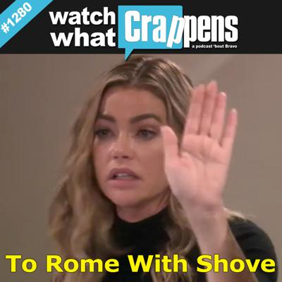 Cover art for RHOBH: To Rome With Shove