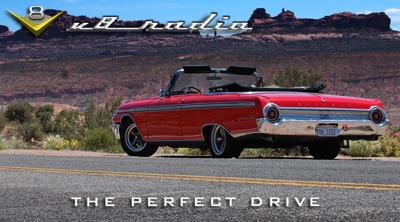 Cover art for Elements Of The Perfect Drive on the V8 Radio Podcast