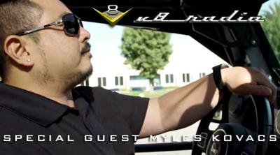 Cover art for Special Guest Myles Kovacs on the V8 Radio Podcast
