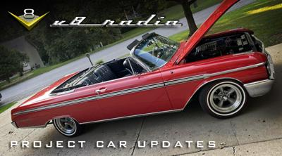 Cover art for Project Car Updates on the V8 Radio Podcast
