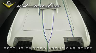Cover art for Top 5 Car Things That Still Get You Jazzed, Cobra Super Snake At Auction, 2021 Mach 1, Automotive Trivia, And More On The V8 Radio Podcast