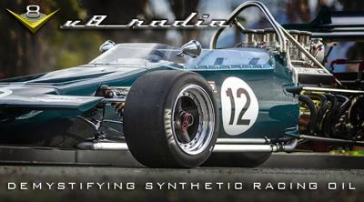 Cover art for New Synthetic Oil Technologies With Rick Lee of PTH Racing Oil, Automotive Trivia, and More on the V8 Radio Podcast