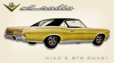 Cover art for Mike's GTO Is Alive!  Street Machine Nationals, Automotive Trivia, and More on the V8 Radio Podcast