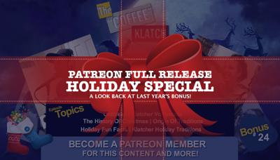 Cover art for Patreon Full Release: Holiday Special