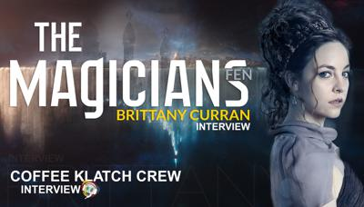 Cover art for Brittany Curran Interview - The Magicians (Fen)