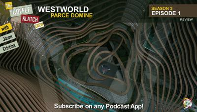 Cover art for WW – Westworld S3 E1 Parce Domine