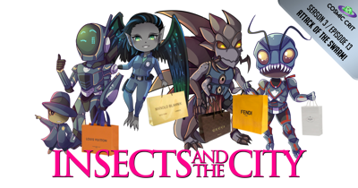 Cover art for S3 | 129: Insects and the City