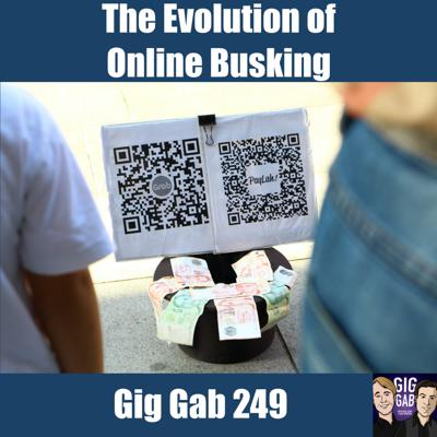 Cover art for The Evolution of Online Busking