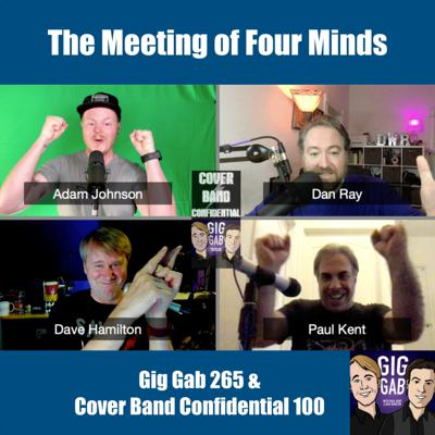 Cover art for The Meeting of Four Minds, a Crossover Episode