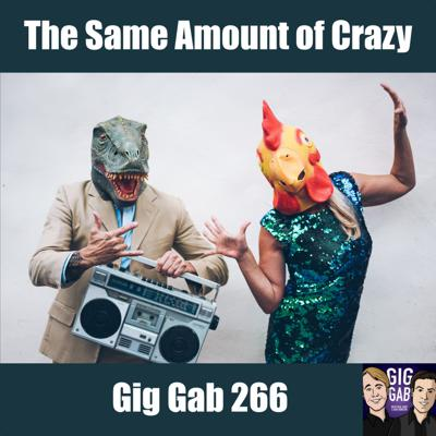 Cover art for The Same Amount of Crazy