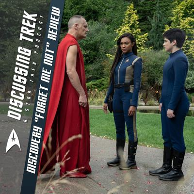"""Cover art for Star Trek: Discovery """"Forget Me Not"""" Review"""
