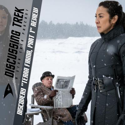 """Cover art for Star Trek: Discovery """"Terra Firma, Part 1"""" Review"""