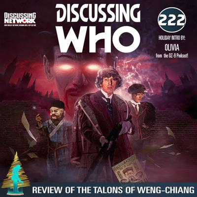 Cover art for Discussing Who: Review of the Talons of Weng Chiang
