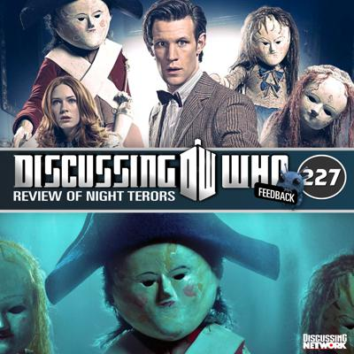 Cover art for Episode 227: Review of Night Terrors, Doctor Who Series 6 Episode 9